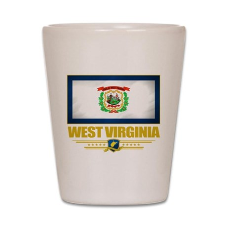 West Virginia Pride Shot Glass
