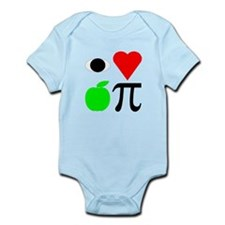 I Heart Apple Pie I Love Appl Infant Bodysuit