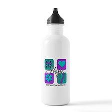 Hope Inspire Tiles Water Bottle