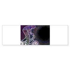WillieBMX The Glowing Edge Bumper Sticker