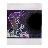 WillieBMX The Glowing Edge Throw Blanket