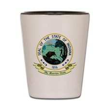 Indiana Seal Shot Glass