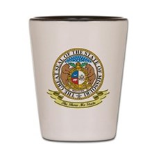 Missouri Seal Shot Glass