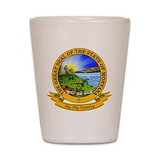 Montana Seal Shot Glass