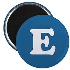 """E in """"Runner"""" Set Magnet"""