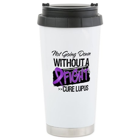 Not Going Down - Lupus Ceramic Travel Mug