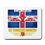 1st Tennessee Infantry Mousepad