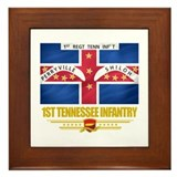 1st Tennessee Infantry Framed Tile