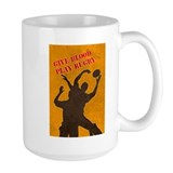 rugby lineout catch Mug