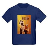 rugby player line out T