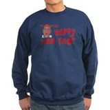 Crabby New Year Sweatshirt