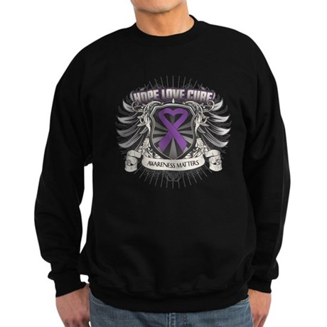 Hope Love Cure Lupus Sweatshirt (dark)