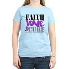 Faith Love Cure - Lupus T-Shirt
