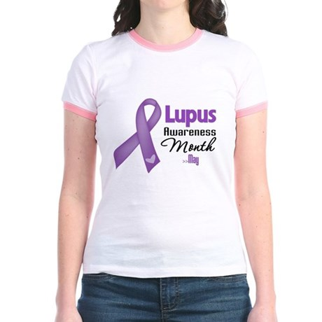 Lupus Awareness Month Jr. Ringer T-Shirt