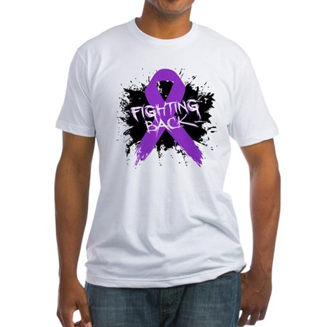 Fighting Back - Lupus Fitted T-Shirt