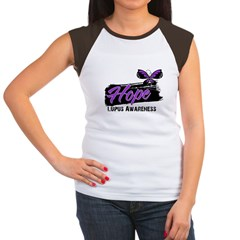 Butterfly Hope Lupus Women's Cap Sleeve T-Shirt