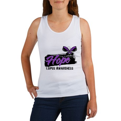 Butterfly Hope Lupus Women's Tank Top