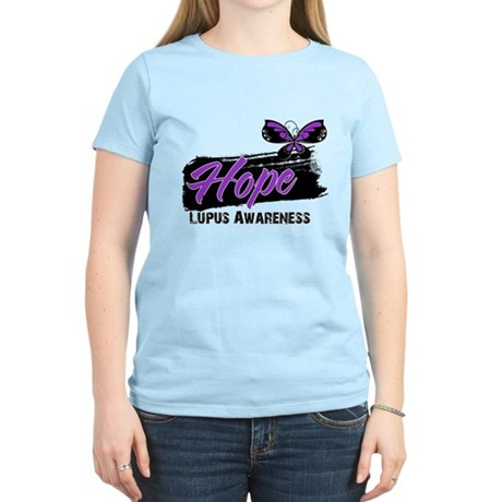 Butterfly Hope Lupus Women's Light T-Shirt