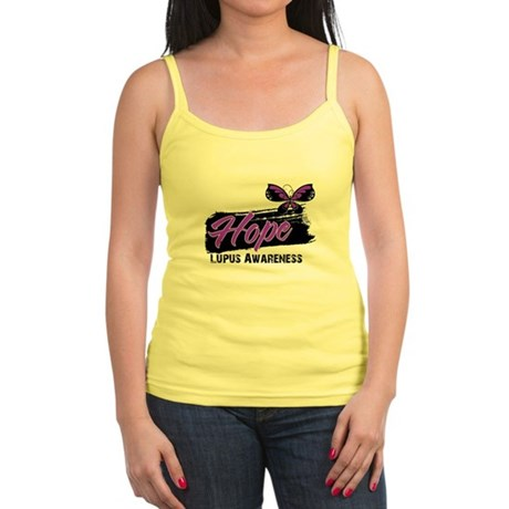 Butterfly Hope Lupus Jr. Spaghetti Tank