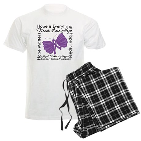 Lupus Hope Is Everything Men's Light Pajamas