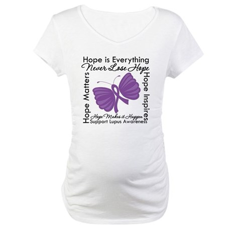 Lupus Hope Is Everything Maternity T-Shirt