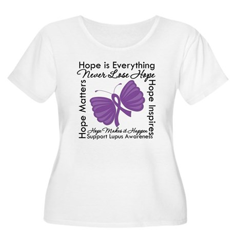 Lupus Hope Is Everything Women's Plus Size Scoop N