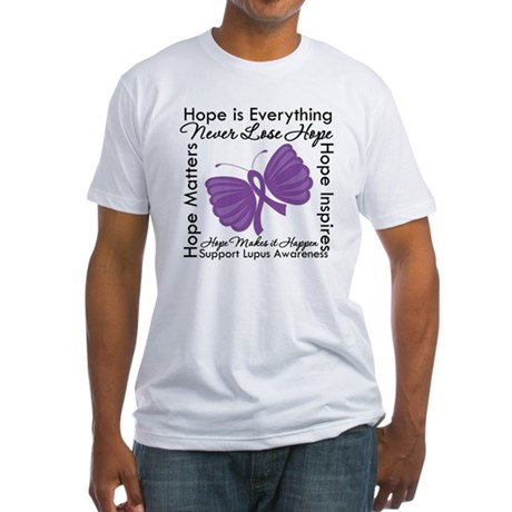 Lupus Hope Is Everything Fitted T-Shirt