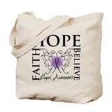 Hope Tattoo Butterfly Lupus Tote Bag