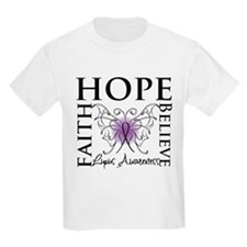 Hope Tattoo Butterfly Lupus T-Shirt