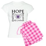 Hope Tattoo Butterfly Lupus pajamas