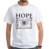 Hope Tattoo Butterfly Lupus Shirt