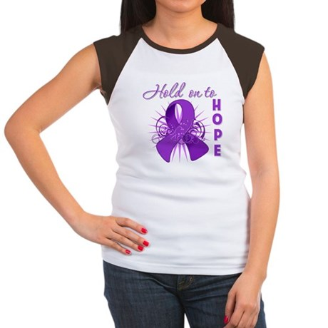 Hold on to Hope Lupus Women's Cap Sleeve T-Shirt