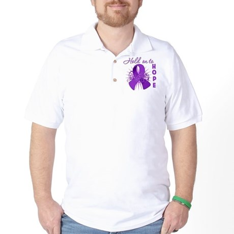 Hold on to Hope Lupus Golf Shirt
