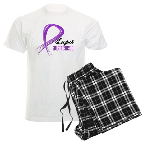 Lupus Grunge Ribbon Men's Light Pajamas