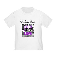 Finding a Cure Lupus Toddler T-Shirt