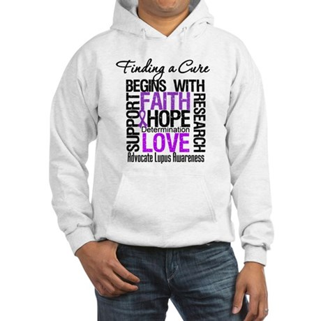 Finding a Cure Lupus Hooded Sweatshirt