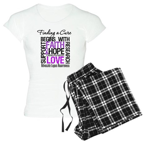 Finding a Cure Lupus Women's Light Pajamas