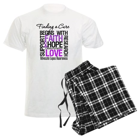 Finding a Cure Lupus Men's Light Pajamas