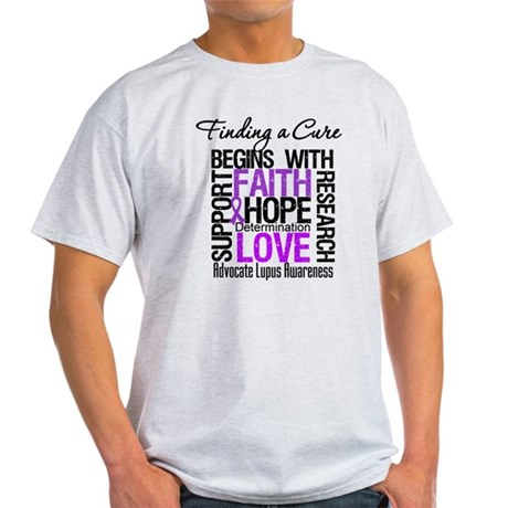 Finding a Cure Lupus Light T-Shirt
