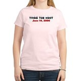 6/14/2006 Wedding Women's Pink T-Shirt