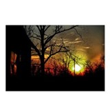8 - Sunset on the Round Knob Store Postcards