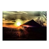 8 - Massac County Barn at Sunset Postcards