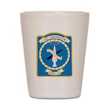 USS CONYNGHAM Shot Glass