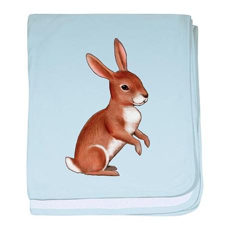 Bunny Rabbit baby blanket
