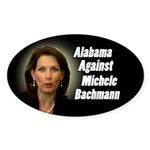 Alabama Against Michele Bachmann bumper sticker