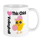 This Chick Loves Volleyball Mug