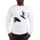 Lietuva Extreme Surfer Long Sleeve T-Shirt