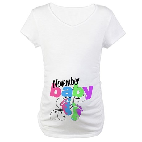 November Baby Maternity T-Shirt