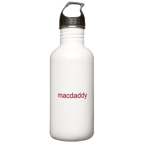 macdaddy red Stainless Water Bottle 1.0L