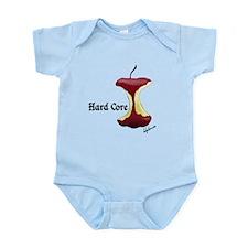 Funny Apple core Infant Bodysuit